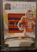 2020 Panini Chronicles Draft Picks Tee Higgins 1 Of 1 Rookie Patch 1st Year