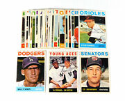 Lot Of 31 Different 1964 Topps Baseball Signed Cards Autos