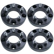4 Pcs 5x5.5 To 5x4.5 Wheel Adapters 38mm Spacers 1.5 Thick 12x1.5 Studs