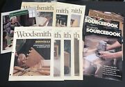 Woodsmith Magazine Source And Shop Lot Of 12 Issues 90s 1991 Instruction Manuals