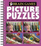 Brain Games - Picture Puzzles 3 How Many Differences Can You Find Volume…