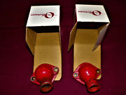 1949 1950 1951 1952 And 1953 Ford V8 New Pair Of Water Outlets. Radiator