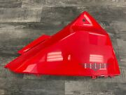 Honda 1986-2007 Cn250 250 Helix Scooter Oem Left Side Trunk Cover Panel Cowl Red
