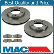 For 07-10 Cobalt 5 Lug Rotors Cars Using Rear Drums Frt Rotors And Ceram Pads 3pc