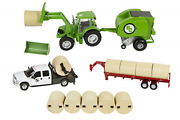 Big Country Toys Hay Baling Set - 120 Scale - Hay Baling Toy Set - Farm Toys ...