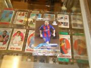 2018 Topps Chrome Soccer Factory Sealed Promo Pack Lionel Messi On Top