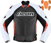 Icon Hypersport 2 Prime Jacket Black/red Size Small