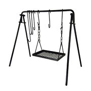 Marada Grill Swing Cooking Stand Bbq Grill For Cookware And Dutch Oven