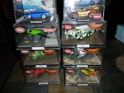 8 Lot 1/43 Disney Store Pixar Cars Planes Chase Lightning Mcqueen Fire Rescue