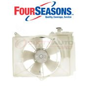 Four Seasons Dual Radiator And Condenser Fan Assembly For 2004-2006 Scion Xb Dg
