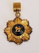 Order Of British India 2nd Class Medal Vintage Free Shipping