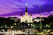 New Orleans St. Louis Cathedral Metal Art 12x18 From The Artist.