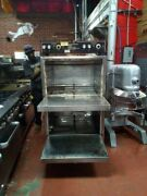 Smith Sth 0590-01 Electric Commercial Stainless Steel Single Rack Cooker Smoker