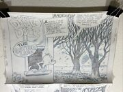 William Van Horn Donald Duck Disney Comic Art 10 Pages Signed The Better Life