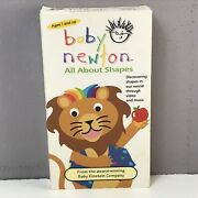 Baby Einstein Newton Vhs Video Tape Shapes Tested Rare Vtg Collectible Fast Free