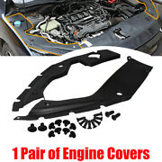 For 16-2021 10th Gen Honda Civic Engine Bay Side Panel Covers Pair- Long Version