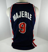 1994 Team Usa Basketball Dan Majerle 9 Game Issued Blue Jersey Dp06235