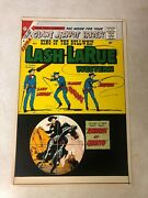 Lash Larue 73 Art Original Cover Proof 1959 Western Awesome Whip Target Cover
