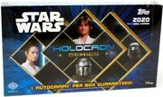 2020 Topps Star Wars Holocron Series Hobby 12 Box Case Blowout Cards