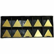 Rishet Tools 11728 Tpu 322 C5 Multi Layer Tin Coated Solid Carbide Inserts Pack