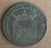 Germany Brunswick-wolfen Butter. 1705 2/3 Thaler About Uncirculated