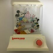 Tomy Water Game Mickey's Ice Cream Rare Retro Vintage Goods Toys Old Toy Japan
