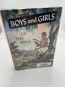 Boys And Girls Of The Bible Charles L Paddock Pacific Press Sealed