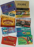 Casino Slot Club Cards - You Pick The Ones You Want - Various Locations