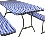 Rally Home Goods Indoor Outdoor Patio Round Fitted Vinyl Tablecloth Flannel Bac