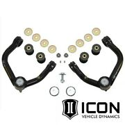 Icon Tubular Delta Joint Upper Control Arms For 1996-2004 Toyota Tacoma 6-lug