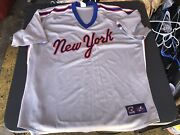 Ny Mets Cooperstown Authentic Collection Away Jersey Sz 3xl