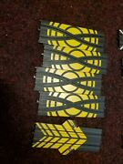 Life-like Slot Car Race Track4 9 Crossover Tracks And 1 Lap Counter Lot 93