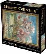 2000 Pieces Peach Tree Puzzles For Adults The Pink Jigsaw Puzzles...