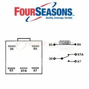 Four Seasons Ac Compressor Cut-out Relay For 1994-1996 Cadillac Deville - Hn