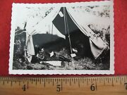 World War 2 Ww2 Original Photo European Detailed. Reading Letters From Home 65