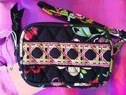 New Tags Vera Bradley Foundation For Breast Cancer Ribbons Wristlet Purse Wallet