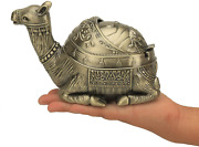 Decorative Camel Ashtray For Cigarettes With Lid For Indoor Outdoor Metal