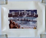 Paul Mccartney And Wings Over The World 1979 Film Artwork Photo The Beatles Minty