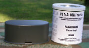 German Wwii Panzergrau Panzer Gray 1 Quart Can Paint For Vehicles Or Equipment