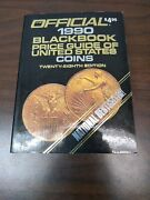 Official 1990 Black Book Price Guide Of United States Coins