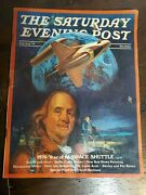 The Saturday Evening Post July/aug And03973 1976 Year Of The Space Shuttle