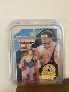 Wwf Wwe Andre The Giant Blue Spanish Card 1990 Hasbro New Series 1 Rare