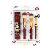 Mad Beauty Disney Minnie Mouse Makeup Cosmetics Brush Gift Set New And Sealed