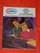1968 Lionel Toy Train And Accessory Catalog New Unused Postwar O 027 Gauge Sets