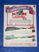 1970 Lionel Toy Train And Accessory Catalog New Unused Postwar O 027 Gauge Sets