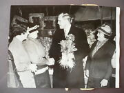 Photographie 1935 Sir Ian Fraser Campagne Electorale Candidat Anglais Aveugle