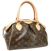 Louis Vuitton Tivoli Pm Hand Tote Bag Ah2172 Purse Monogram M40143 Auth 40750