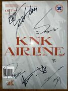 Knk [knk Airline] Autographed Signed Promo Album