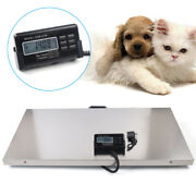 440lb Heavy Duty Digital Vet Scale Weighing Scale Pet Cat Dog Sheep Livestock Us