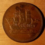 Ships Colonies And Commerce, Pe 10-12, Lees 12, Bre 997 Canadian Token